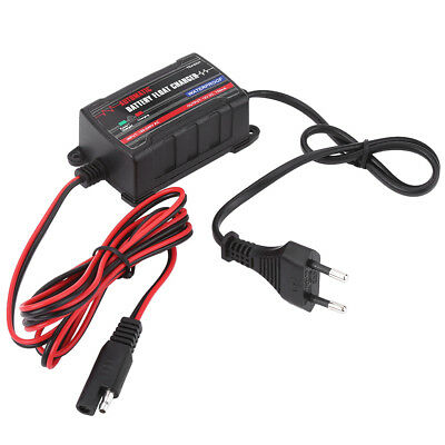Car Motorcycle ATV Battery Automatic Float Charger Trickle Maintainer 6V 12V SS
