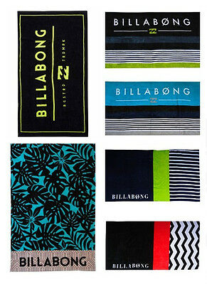 NEW BILLABONG Beach Towel Unisex Swimming Towel Bath Surl 6-Design Choice