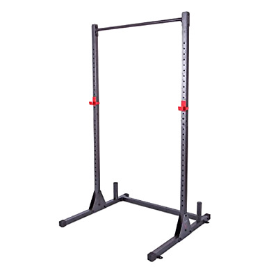 """85x46x50"""" Sturdy Steel Metal Power Rack Exercise Squat Stand For Gym Training"""