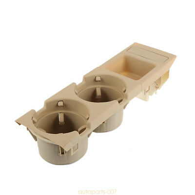 For BMW E46 318 320 325 330 98-04 Plastic Water Cup Holder Money Storage Box as0