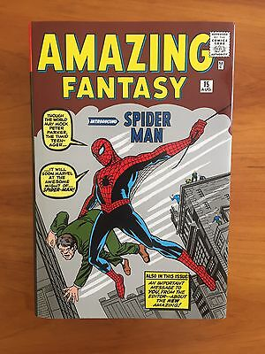 The Amazing Spider-Man Omnibus Vol. 1 Hardcover by Stan Lee & Steve Ditko