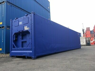 40 Fuß High Cube Isoliercontainer Lagercontainer Container Iso Box