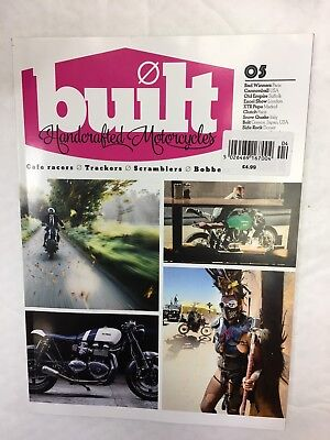 Built Handcrafted Motorcycles Issue 5 Side Rock Dorset Cannonball Usa Urban Ride