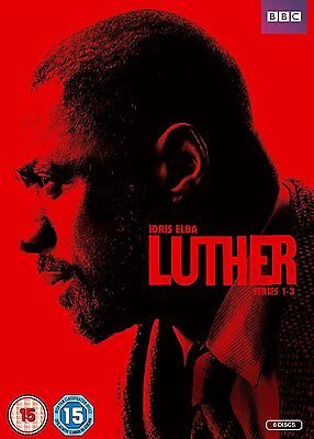 Luther ~ Series 1-3 { Dvd Box Set }