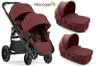 Baby Jogger City Select Lux  DLA DWOJGA 4w1 Twin Double Stroller Slate | 2017