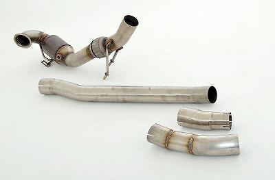 NIL 3in Downpipe with Sports catalytic converter Audi TTS 8S Quattro from yr