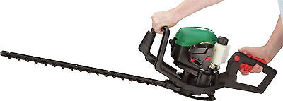 Qualcast 26cc 2 stroke Petrol Hedge Trimmer  55cm SLK26A NEW 5025