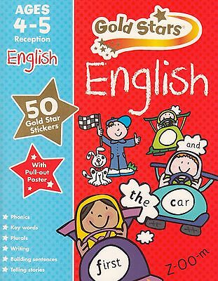 Gold Stars English Ages 4-5 Reception BRAND NEW BOOK (Paperback 2015)