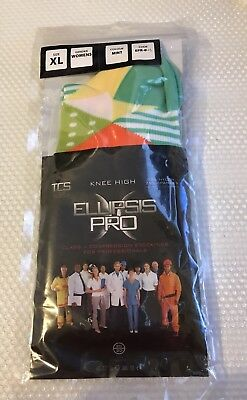Women's ELLIPSIS PRO Knee High Compression Socks Size XL -