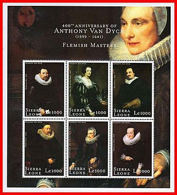VAN DYCK PAINTINGS mnh ** great COLLECTION of 1 SET + 9 S/S + 8 M/S mnh CV$89.00