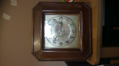 Antique Camerer Cuss & Co Wall clock 1891 in full working order