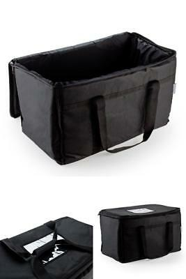 Insulated Nylon Food Delivery Bag  23in x 13in x 15in Travel Food Warm Carry New