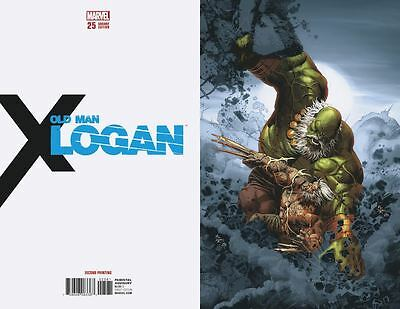 Old Man Logan 2nd Print Virgin Variant issue #25 Limited to 600 copies /PRE-SALE
