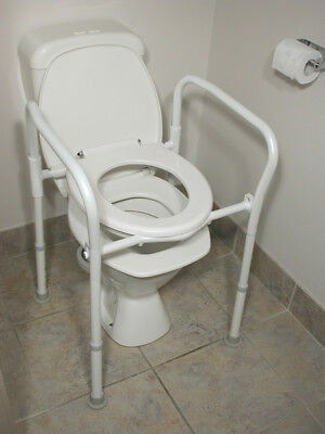 Folding Over Toilet Aid, without Bucket and Lid-Travellers Choice