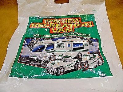 1998 Hess Recreational Vehicle With Dune Buggy/motorbike Original Plastic Bag
