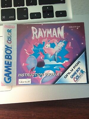 Rayman Gameboy Manual