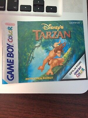 Gameboy Tarzan Manual