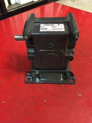 """Morse Emerson ED Series Speed Reducer Gearbox 60:1 Ratio 18ED 5/8"""" In 7/8"""" Ou"""