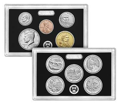 2017 S 225th Anniversary Enhanced Uncirculated 10 Coin Set w/ OGP 17XC