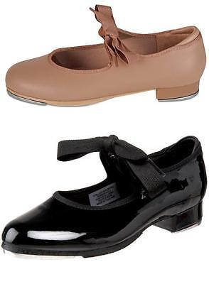 NEW Dance Shoes Tyette Tap Black or Tan Child to Adult Sizes CLOSEOUT PRICES