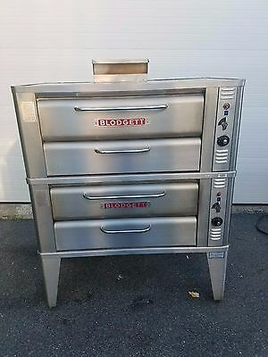 Blodgett 911 Double Bakery Natural Gas Oven Pizza Stainless Must SEE!