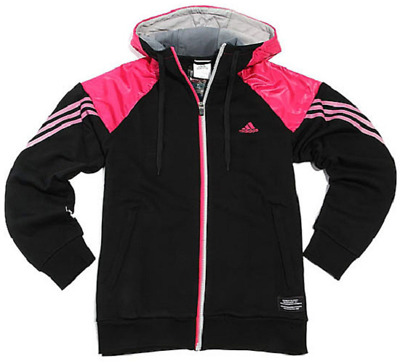 Adidas TC Full Zip Hoodie Hoody Jacket hooded track sports Jacket black P86526