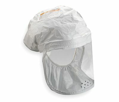 3M BE-12-3 Head Cover, Universal, White, PK 3 (DR)
