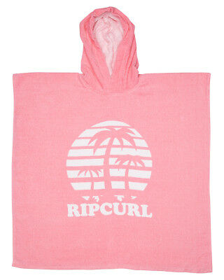 New Rip Curl Girls Tots Girls Forever Hooded Towel Polyester Pink