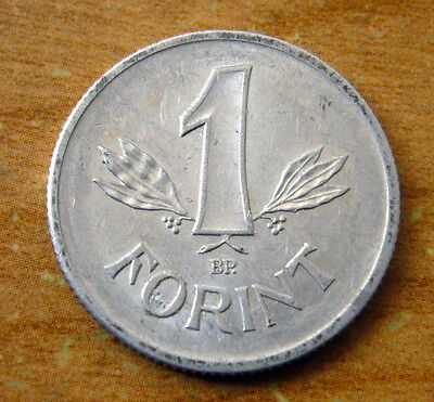 1968 HUNGARY 1 Forint Coin