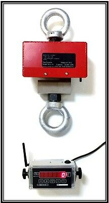 10,000 lbs x 1 lb WIRELESS CRANE SCALE - HANGING SCALE - INDUSTRIAL CRANE SCALE
