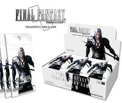 Final Fantasy Trading Card Game OPUS 3 (III) Booster Box 36 Packs IN STOCK