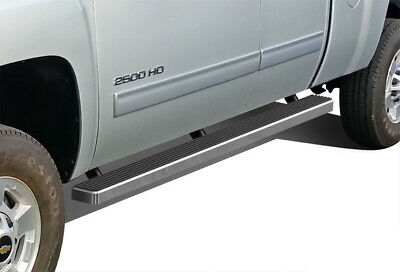 """Running Boards 4"""" Fit 99-13 Chevy Silverado/GMC Sierra Ext.Cab/Double Cab"""
