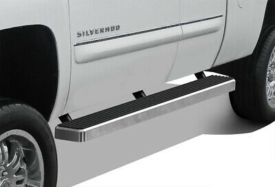 "iBoard Running Boards 5"" Fit 99-13 Chevy Silverado/GMC Sierra Double Cab"