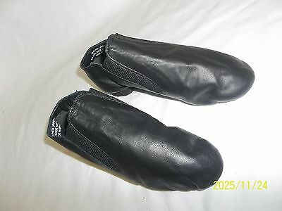 So Danca sz 12 1/2 JZ40 Dance wear Slip On Split Sole Leather Jazz Shoes Flats
