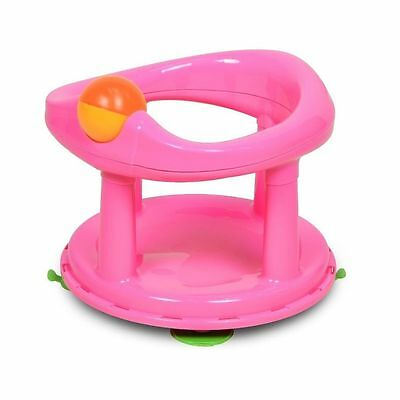 Safety 1st Swivel Bath Seat for Baby Pink