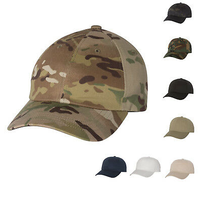 Yupoong Mens MULTICAM / PLAIN Unstructured Classic Dads Cap Cotton Hat - 6245CM