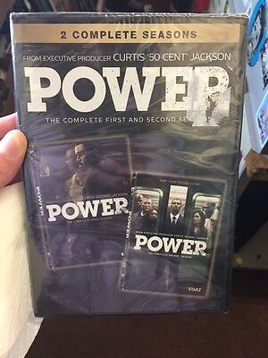 Power: The Complete First and Second Seasons (DVD) NEW