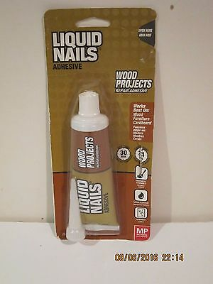 Liquid Nails LN-206-MP- 2.5-oz.Wood Projects Adhesive-F/SHIP NEW SEALED PACKAGE!
