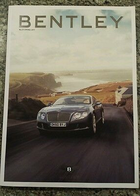 Official Magazine of Bentley Motors, Issue 37, Spring 2011