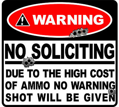 GLOSS LAMINATED 10 X DECAL WARNING JOB SIZE 80 MM BY 56 MM apr