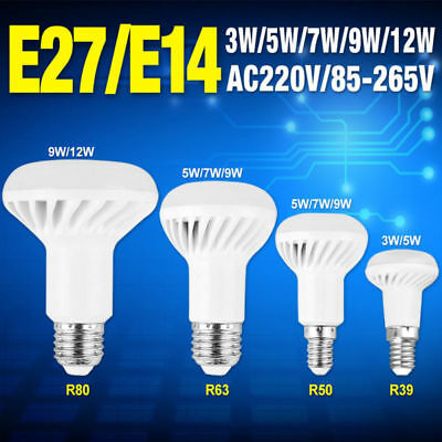 Light E14 R39 R50 Led Lamp Warmcool White Replacement Reflector Bulb E27 R80 dCxBoe