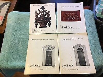 Opportunities In American Antiques Period Furniture Israel Sack Collection 1986