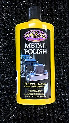 WICKED PRODUCTS - METAL POLISH 473ml
