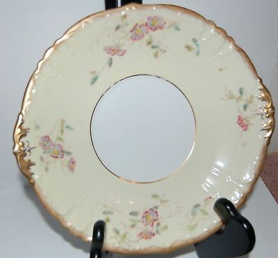 W.A.A & Co (William Adderley)- 2xCake Plates- SPRAY No.46,PATTERN 6107,RD#211930