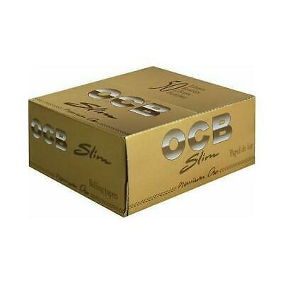 Originale Ocb Premium Gold Sottile Cartine