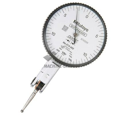 "Mitutoyo 513-402 Horizontal Dial Test Indicator DTI 0.03"" Measuring Range"