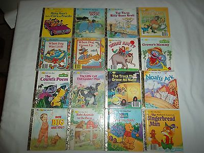Lot of 16 First Little Golden Books