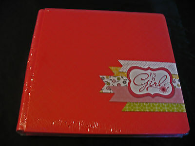 Creative Memories 12x12 album It's A Girl! Fast to Fab NIP, with Page Protectors