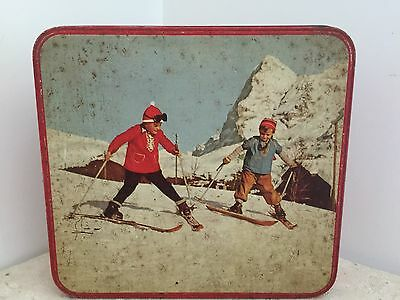 Vintage/Collectable Alpine Assortment Biscuits Tin  Arnotts Homebush
