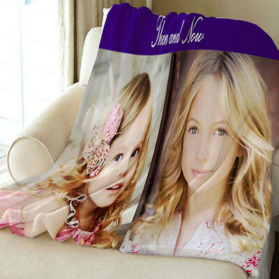 CUSTOM PHOTO BLANKET Personalized Bedding & Throws by In HomeDesign-Great Gift
